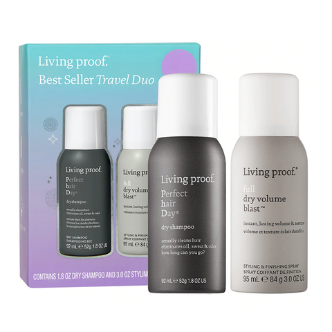 Living Proof Mini Perfect Hair Day Dry Shampoo & Full Volume Blast Set