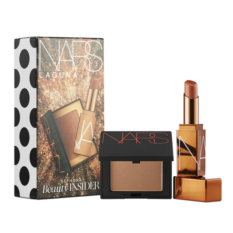 NARS Mini Bronzer in Laguna and Mini Afterglow Lip Balm in Laguna
