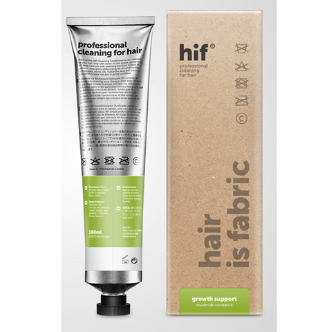 HIF professional cleaning for hair -growth support with advanced pea peptides