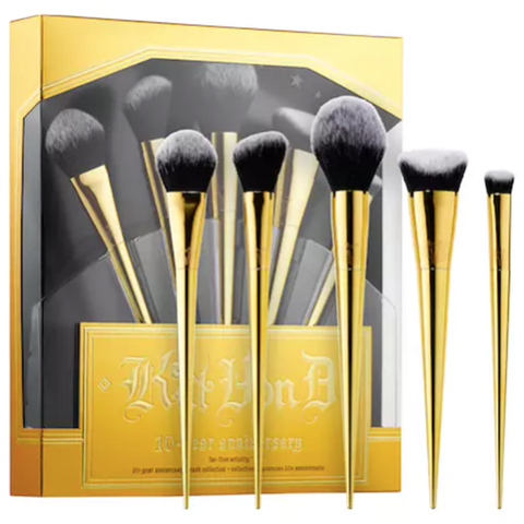KAT VON D BEAUTY 10 Year Anniversary Brush Set (Limited Edition)