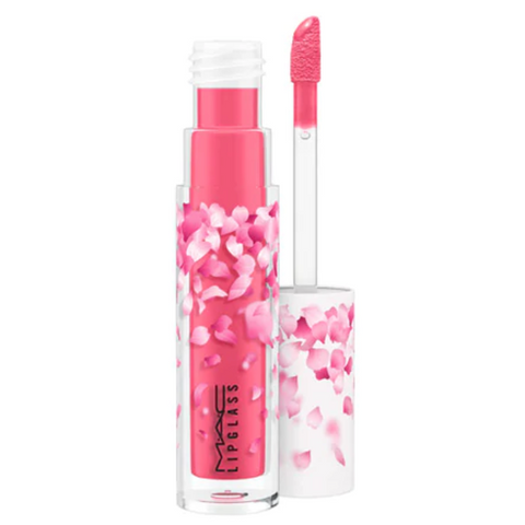 MAC Lipglass / Boom, Boom, Bloom - Cherry Mochi