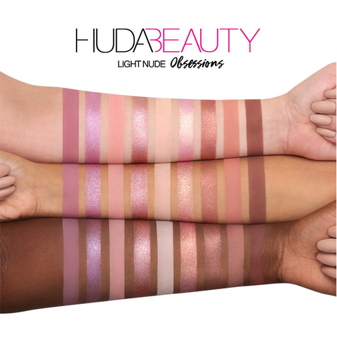 HUDA BEAUTY Nude Obsessions Eyeshadow Palette - Nude Light