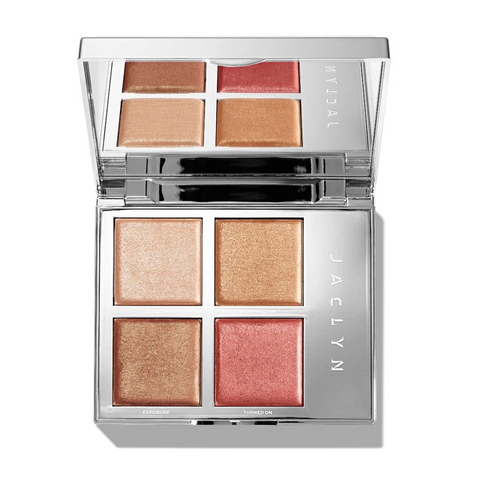 JACLYN COSMETICS ACCENT LIGHT HIGHLIGHTER PALETTE - THE FLARE