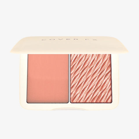 Cover Fx Monochromatic Blush Duo - Soft Peach