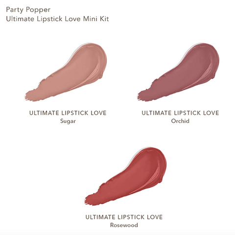 BECCA Party Popper Ultimate Lipstick Love Mini Kit (Limited Edition)