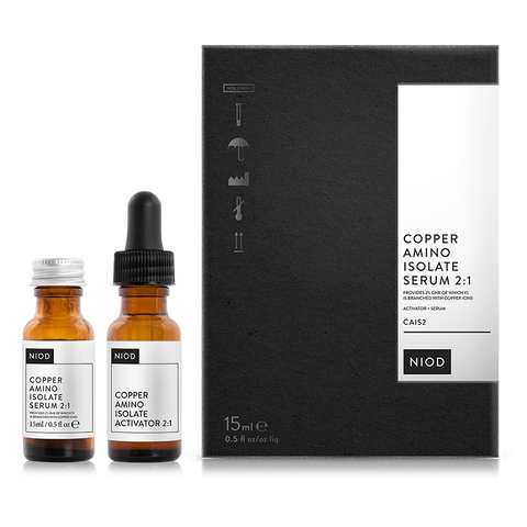 NIOD CAIS 2 COPPER AMINO ISOLATE SERUM 2:1