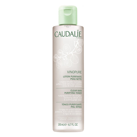 Caudalie Vinopure Clear Skin Purifying Toner - 200ml