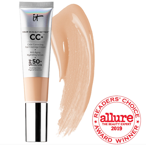 IT Cosmetics Your Skin But Better CC+ Full Coverage Cream - (select Color inside)