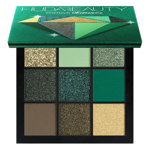 HUDA BEAUTY Obsessions Eyeshadow Palette - Emerald