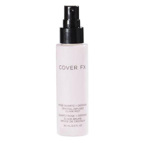 COVER FX Rose Quartz + Defense Crystal Infused Elixir Mist 60ml