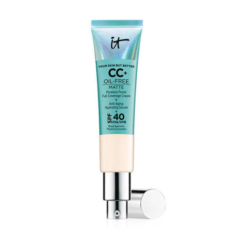 IT COSMETICS Your Skin But Better CC+ Cream Oil-Free Matte with SPF 40 -Light