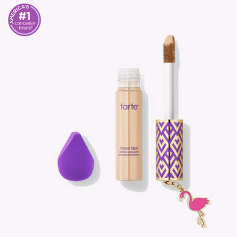 Tarte Shape Tape shape tape concealer & mini sponge set - (see Colors inside)