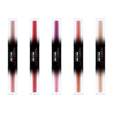 HUDA BEAUTYMatte & Metal Melted Double Ended Eyeshadows - Faux Fur