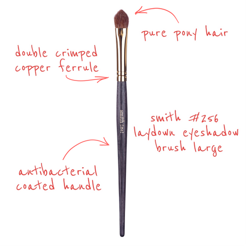 Smith 256 ARROWHEAD LAYDOWN EYESHADOW BRUSH LARGE