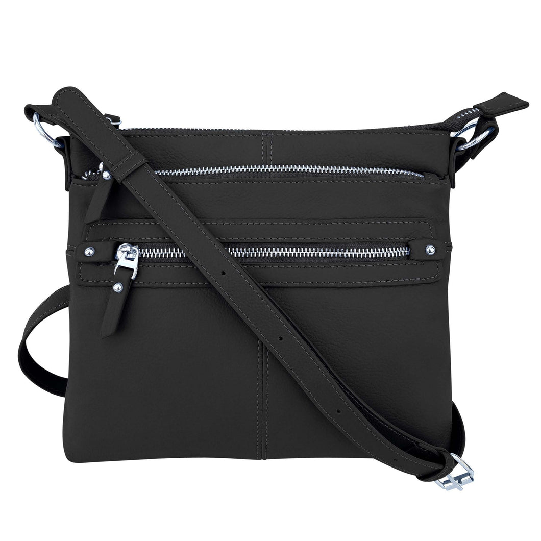 Leather Crossbody Bag 3017