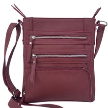 Load image into Gallery viewer, Leather Crossbody Bag 3019