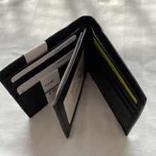 Load image into Gallery viewer, Leather RFID London Stitch Wallet 314RF