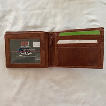 Load image into Gallery viewer, Paul & Taylor Leather RFID Wallet 51208