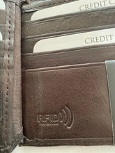 Load image into Gallery viewer, Paul & Taylor RFID Leather Wallet