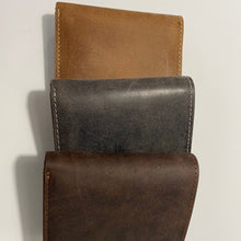 Load image into Gallery viewer, Hunter Leather RFID Tri Fold wallet 54336