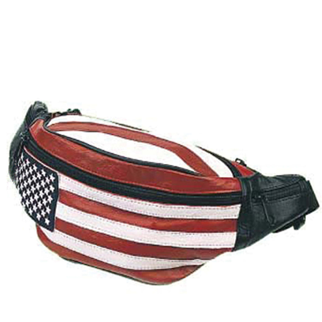 Leather Fanny Pack 7076