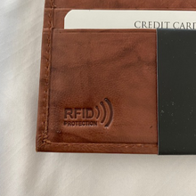 Load image into Gallery viewer, Paul & Taylor Leather RFID Bi fold Wallet 51207