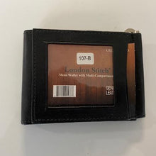 Load image into Gallery viewer, Leather Money Clip  LS 107B
