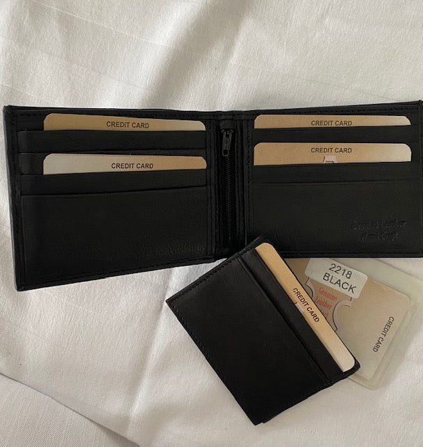 Leather Wallet Paul & Taylor 2218Z