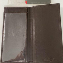 Load image into Gallery viewer, Paul & Taylor Classic Leather Checkbook Cover R-211