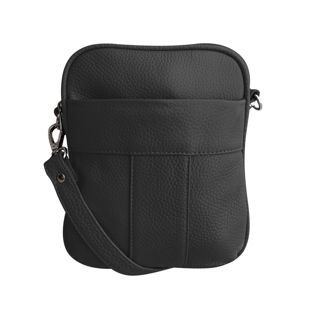 Leather Crossbody Bag W008