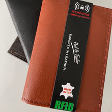 Load image into Gallery viewer, Leather RFID L-Shape Wallet 51255