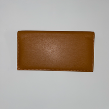 Load image into Gallery viewer, Leather Checkbook cover 3218