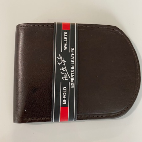 Paul & Taylor Leather Front Pocket Wallet 2166