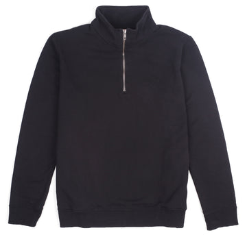 1ST STRIKE HALF ZIP OFF BLACK