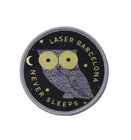 WE NEVER SLEEP PATCH