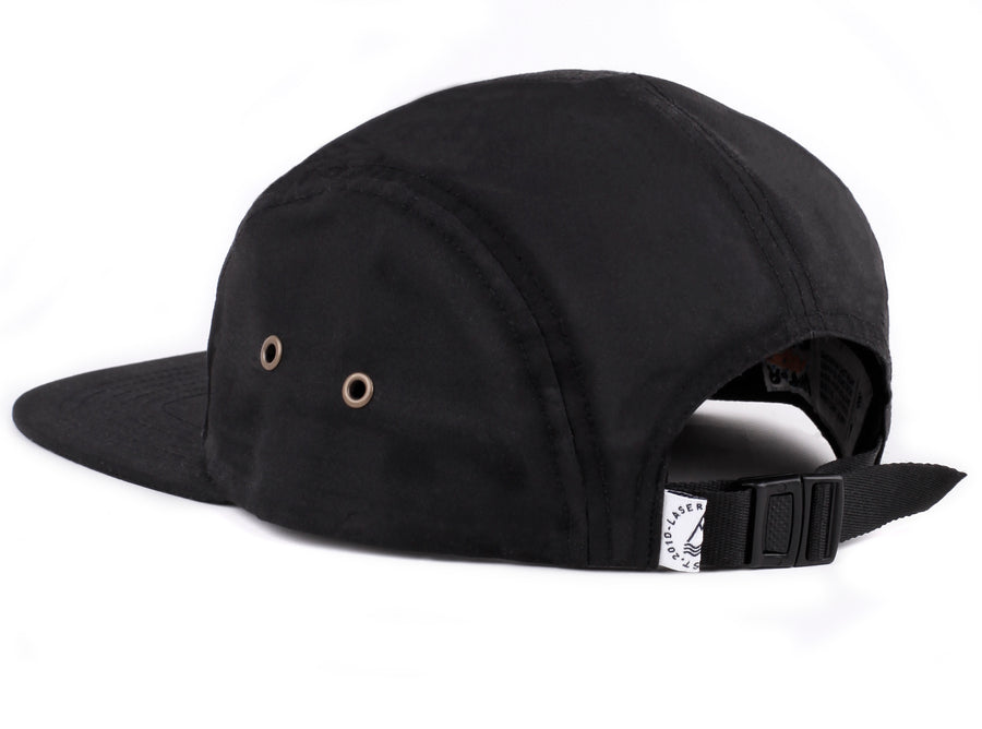 BARCELONETA 5 PANEL HAT BLACK