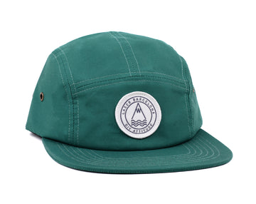 BARCELONETA 5 PANEL HAT PINE GREEN