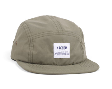 BORNE MOSS GREEN PACKABLE 5 PANEL HAT