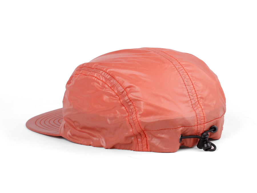 BORNE FLYWEIGHT PACKABLE 5 PANEL HAT SALMON