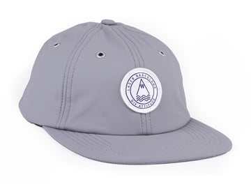 BARCELONETA 6 PANEL RAIN HAT GREY