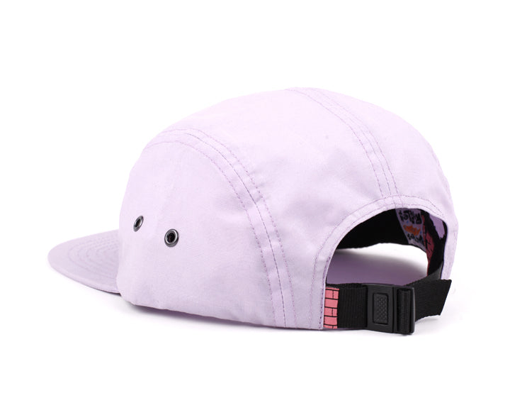 LASER X HEDOF KIDS 5 PANEL HAT CAT LILAC