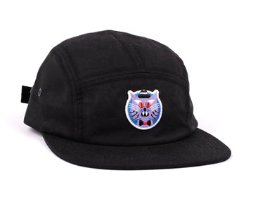 RAWAL ARTIST SERIES X HEDOF 5 PANEL HAT CAT BLACK