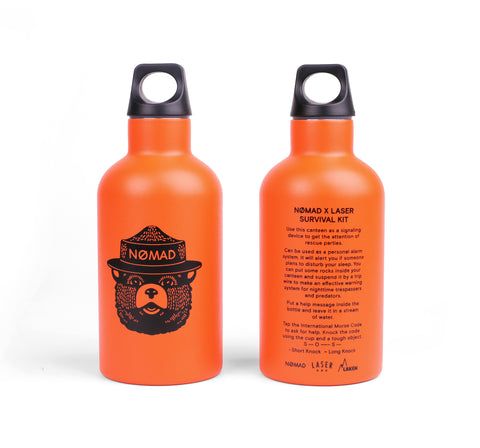 LASER X NOMAD SURVIVAL THERMO BOTTLE