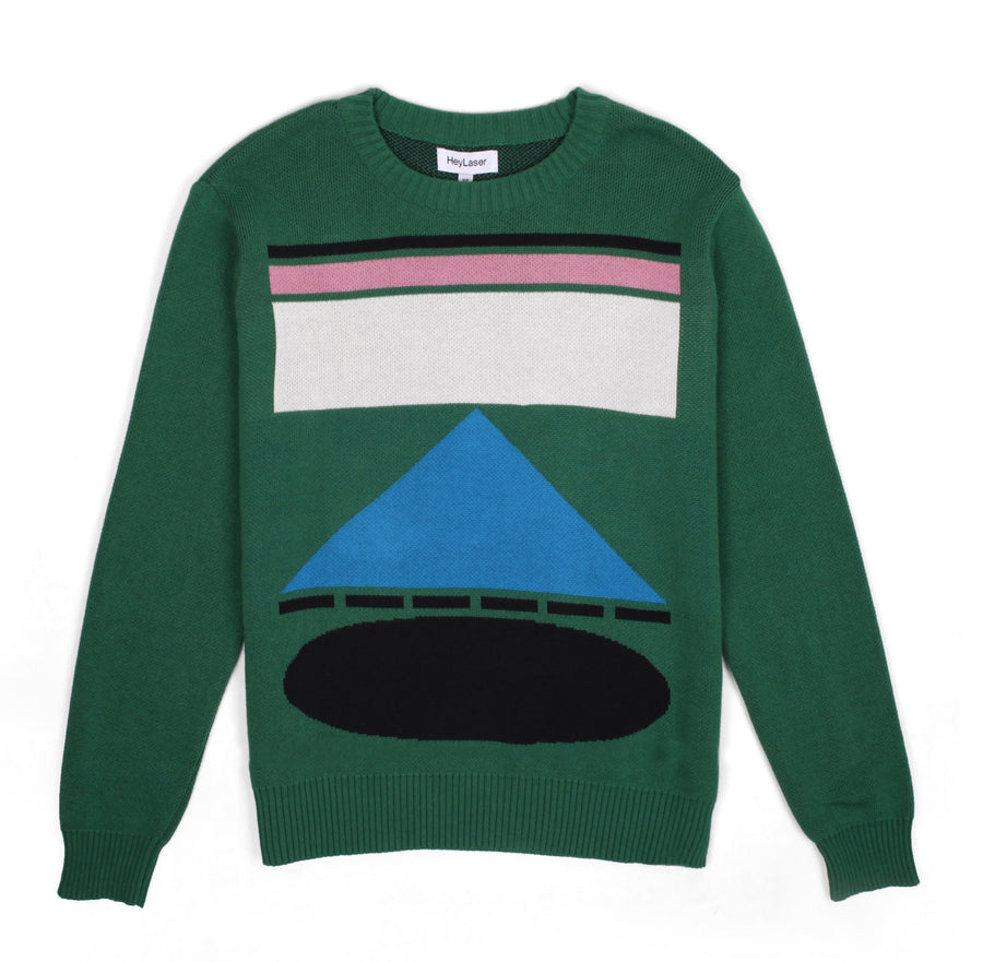 HEYLASER JUMPER GREEN