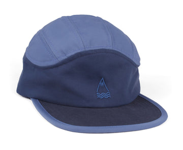 LLACUNA 7 PANEL PACKABLE HAT NAVY