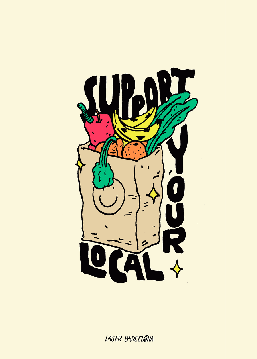 SUPPORT YOUR LOCAL PRINT