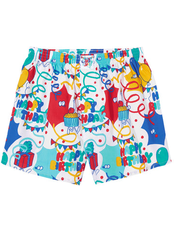 LOUSY LIVIN BOXERS HAPPY BIRTHDAY
