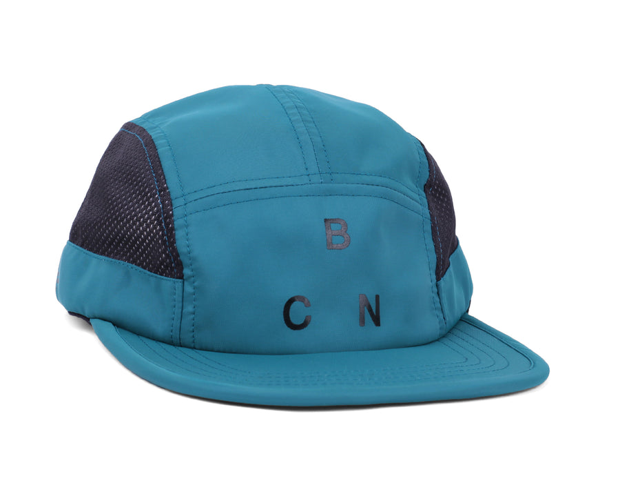 MONTJUICH CO/V2 TECH 5 PANEL HAT LIGHT PETROL