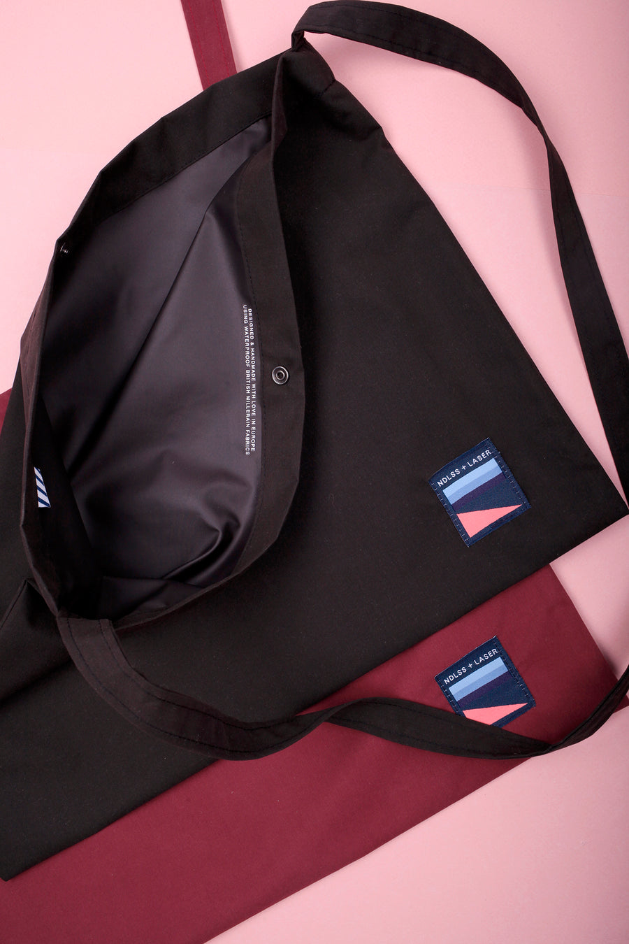 NDLSS+LASER WATERPROOF MUSETTE BLACK