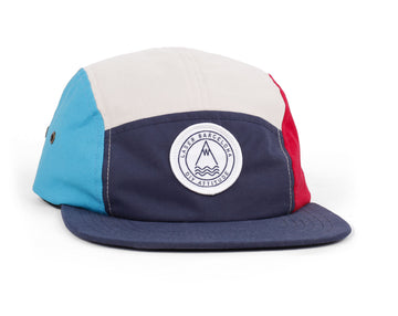 BARCELONETA 5 PANEL HAT MULTI NAVY
